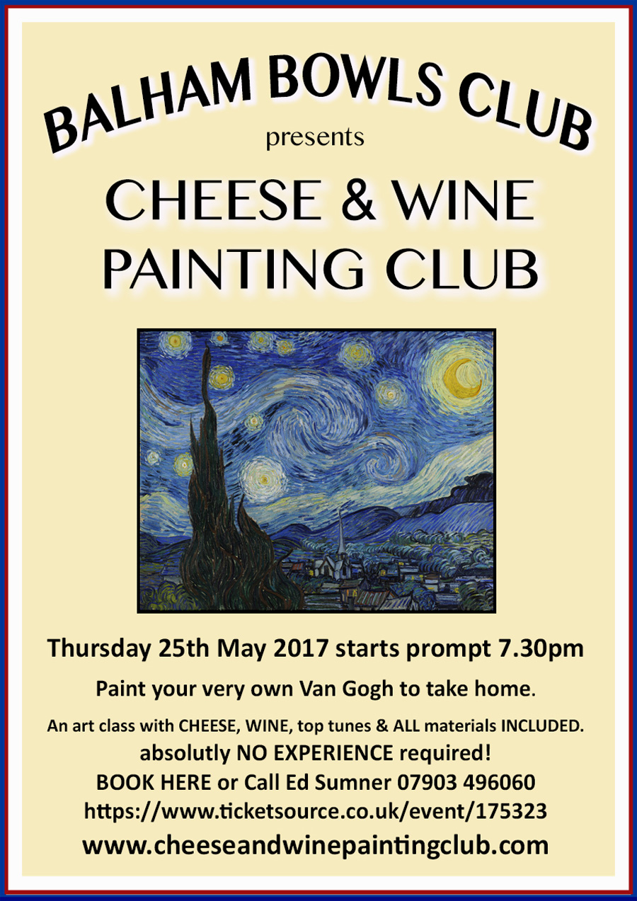 Cheese & Wine Painting Club